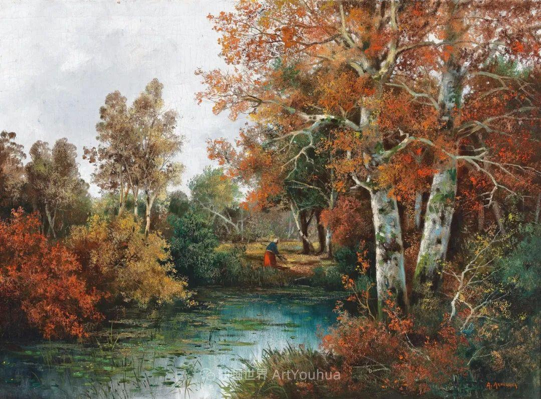 一派宁静秀丽的乡村景色,令人陶醉的色彩!插图27