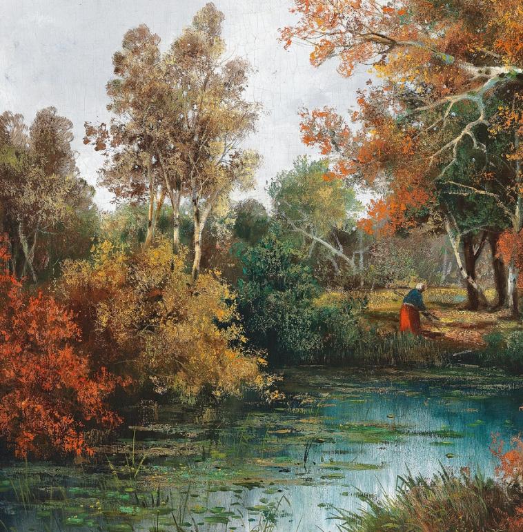一派宁静秀丽的乡村景色,令人陶醉的色彩!插图31