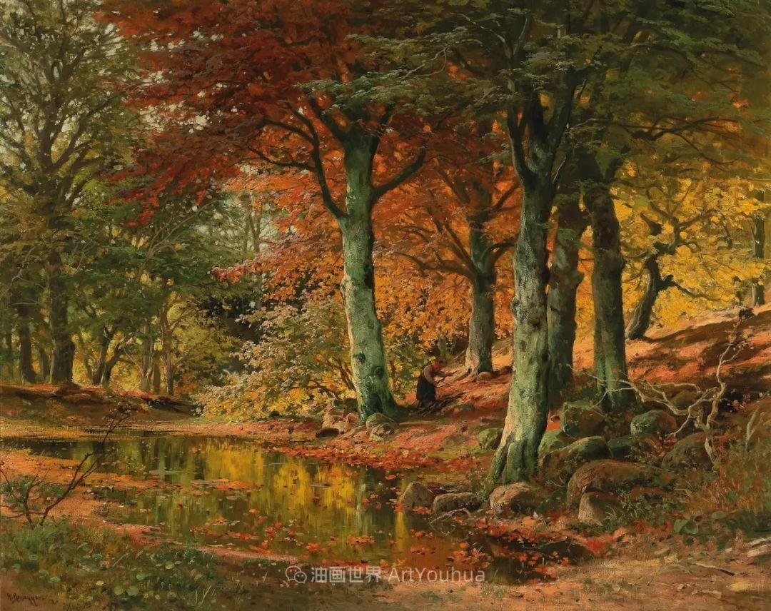 一派宁静秀丽的乡村景色,令人陶醉的色彩!插图45