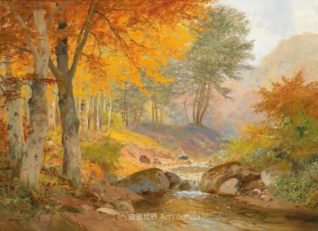 一派宁静秀丽的乡村景色,令人陶醉的色彩!插图51