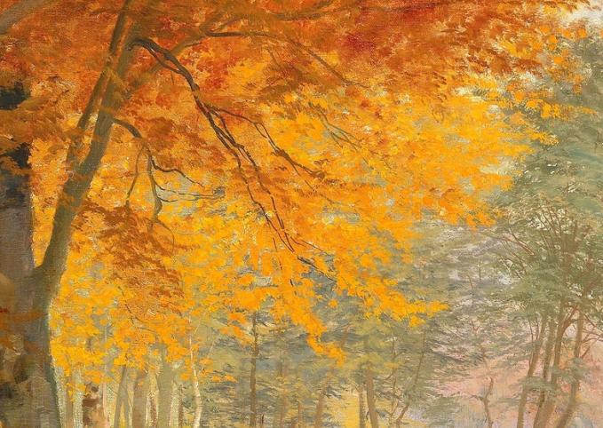 一派宁静秀丽的乡村景色,令人陶醉的色彩!插图53