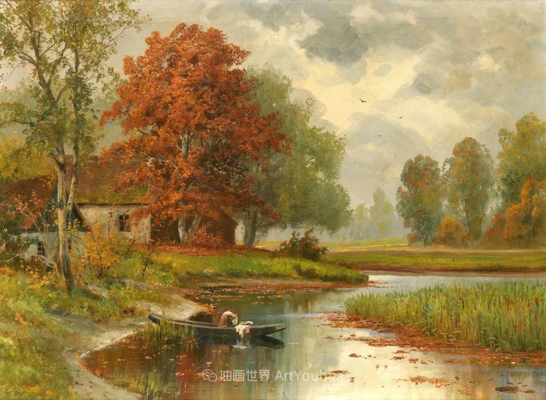 一派宁静秀丽的乡村景色,令人陶醉的色彩!插图57