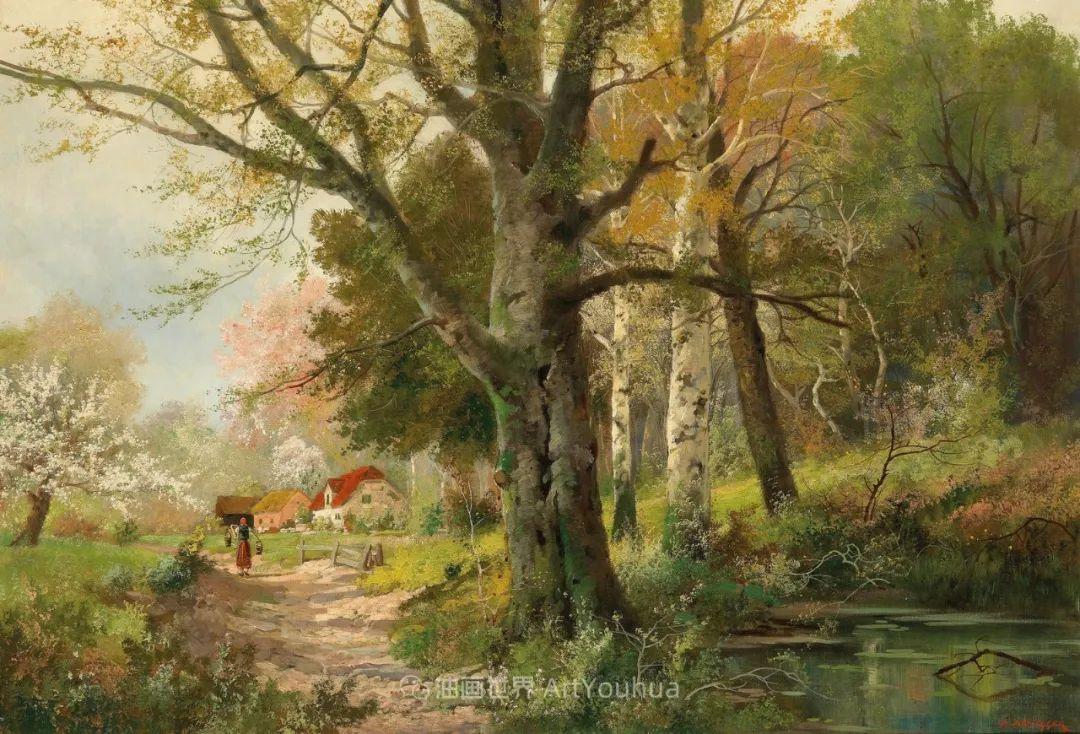 一派宁静秀丽的乡村景色,令人陶醉的色彩!插图61