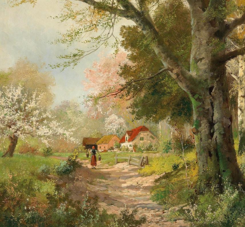 一派宁静秀丽的乡村景色,令人陶醉的色彩!插图63