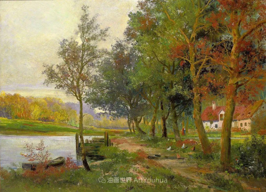 一派宁静秀丽的乡村景色,令人陶醉的色彩!插图67