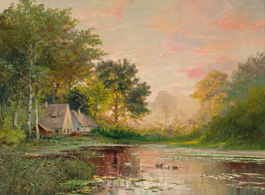一派宁静秀丽的乡村景色,令人陶醉的色彩!插图73
