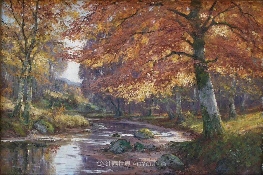 一派宁静秀丽的乡村景色,令人陶醉的色彩!插图95
