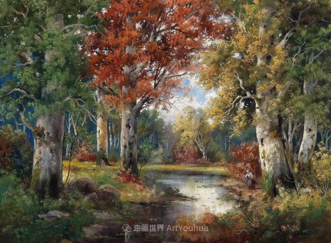 一派宁静秀丽的乡村景色,令人陶醉的色彩!插图97