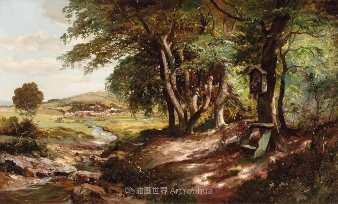 一派宁静秀丽的乡村景色,令人陶醉的色彩!插图99