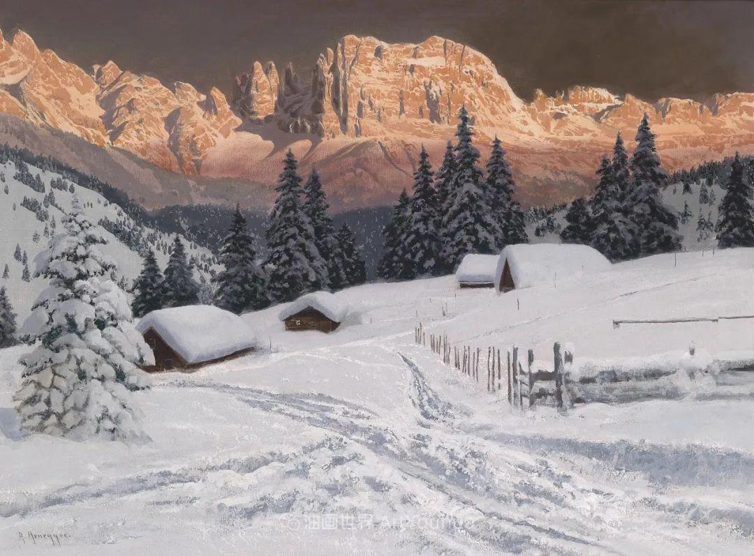 一派宁静秀丽的乡村景色,令人陶醉的色彩!插图101