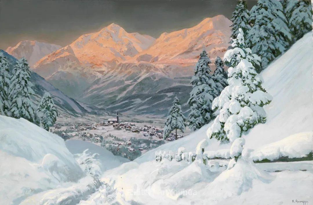一派宁静秀丽的乡村景色,令人陶醉的色彩!插图117