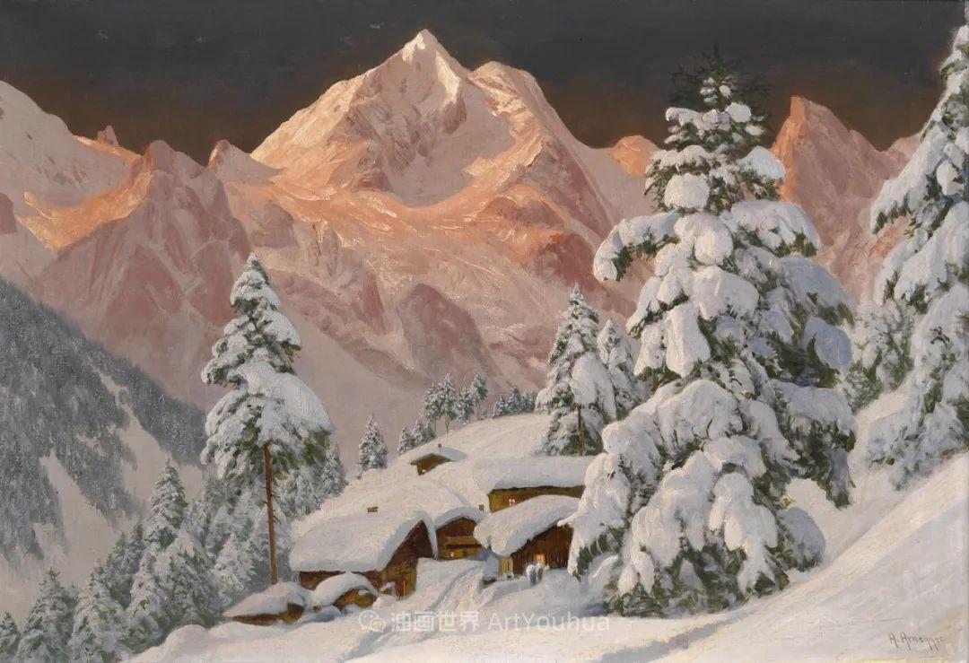 一派宁静秀丽的乡村景色,令人陶醉的色彩!插图119