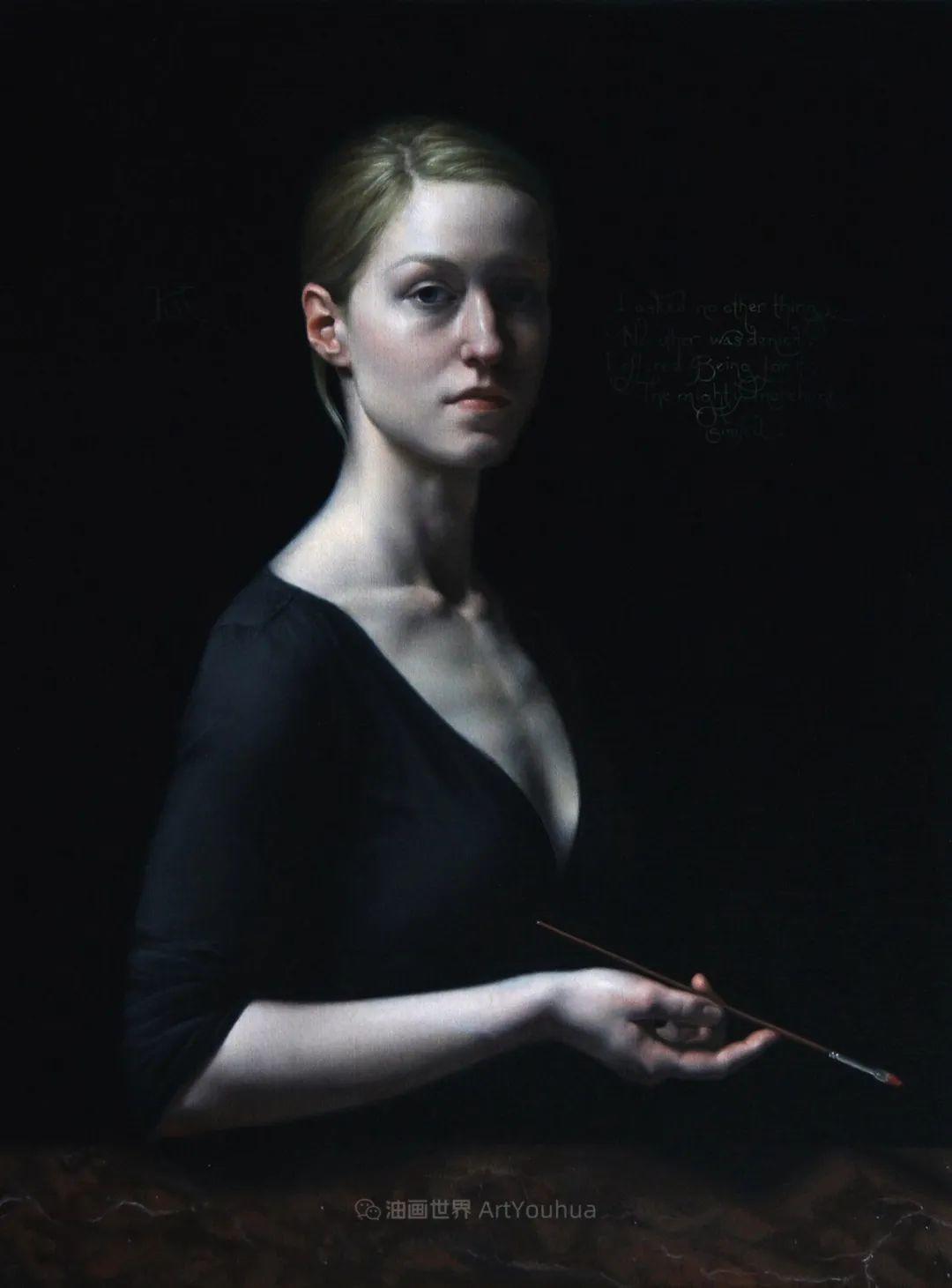细致入微的静物与肖像,加拿大女画家凯瑟琳·斯通插图1