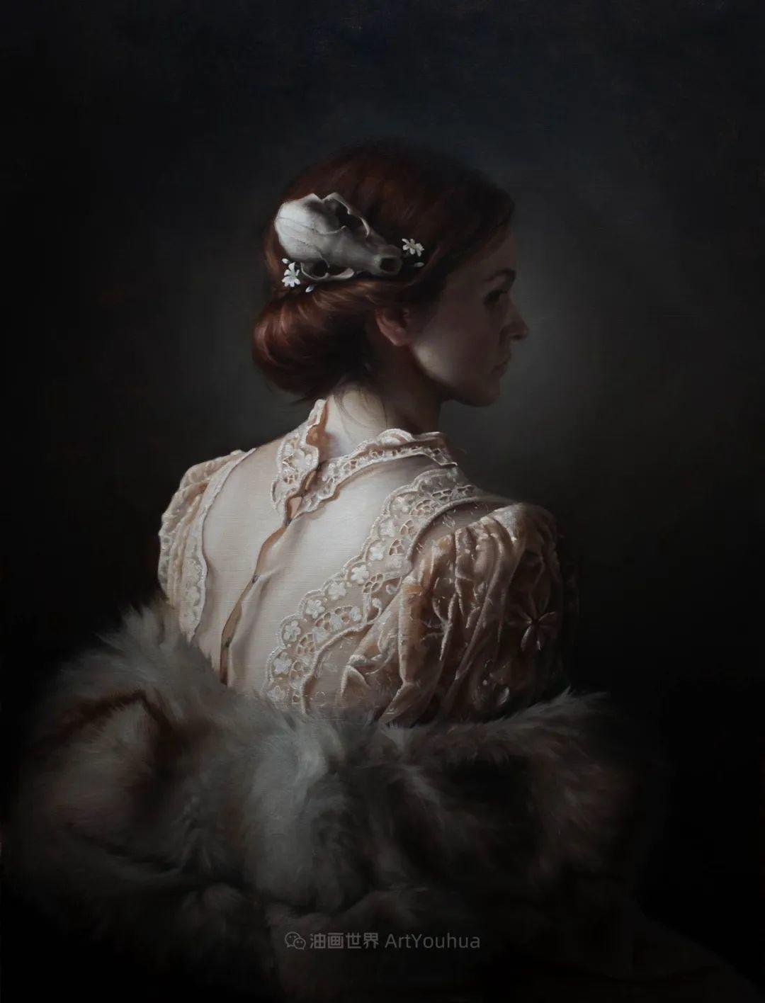 细致入微的静物与肖像,加拿大女画家凯瑟琳·斯通插图7