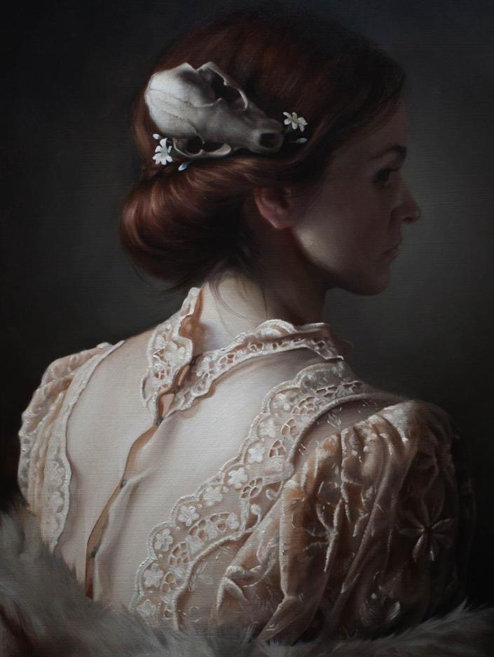 细致入微的静物与肖像,加拿大女画家凯瑟琳·斯通插图9