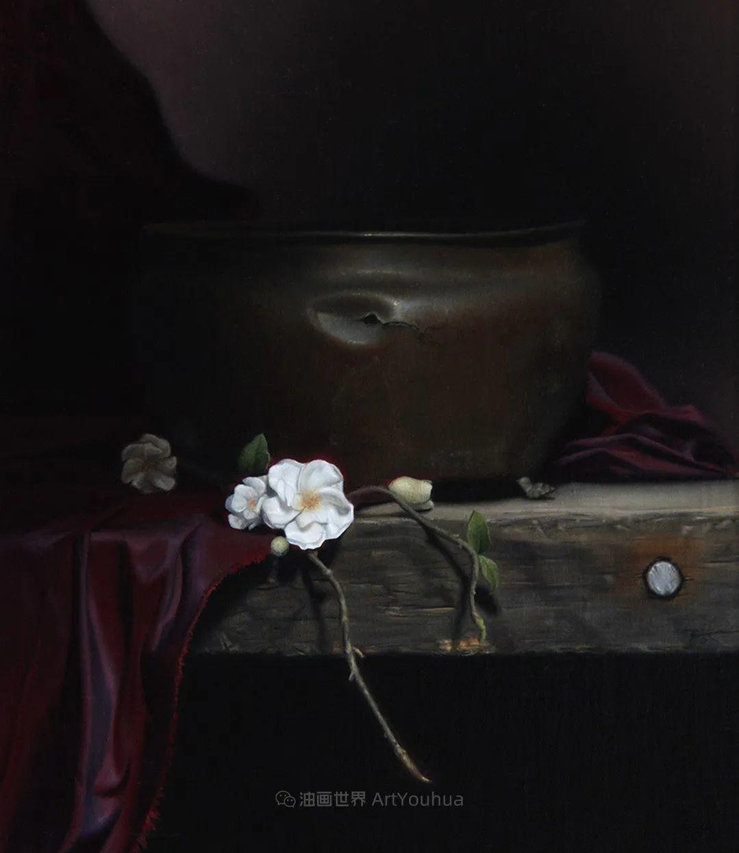 细致入微的静物与肖像,加拿大女画家凯瑟琳·斯通插图15