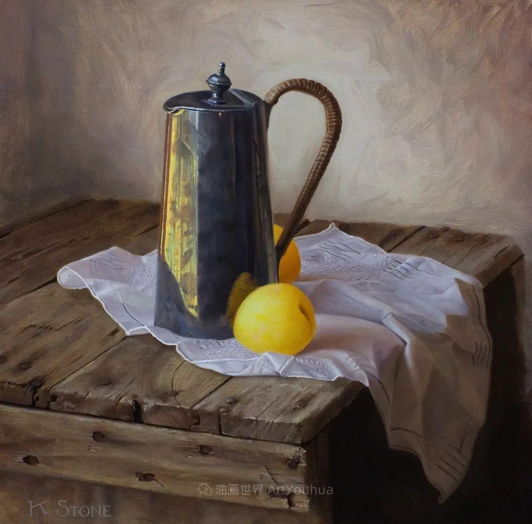 细致入微的静物与肖像,加拿大女画家凯瑟琳·斯通插图19