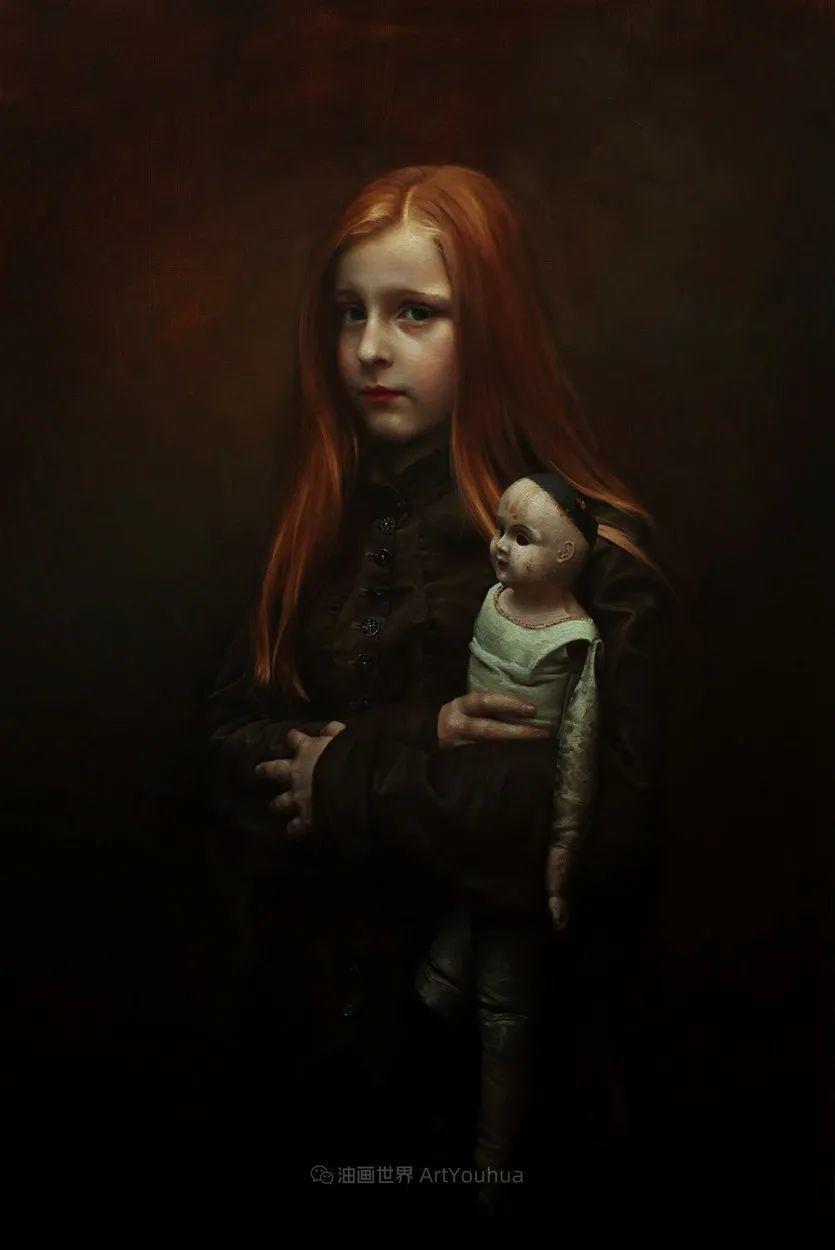 细致入微的静物与肖像,加拿大女画家凯瑟琳·斯通插图27