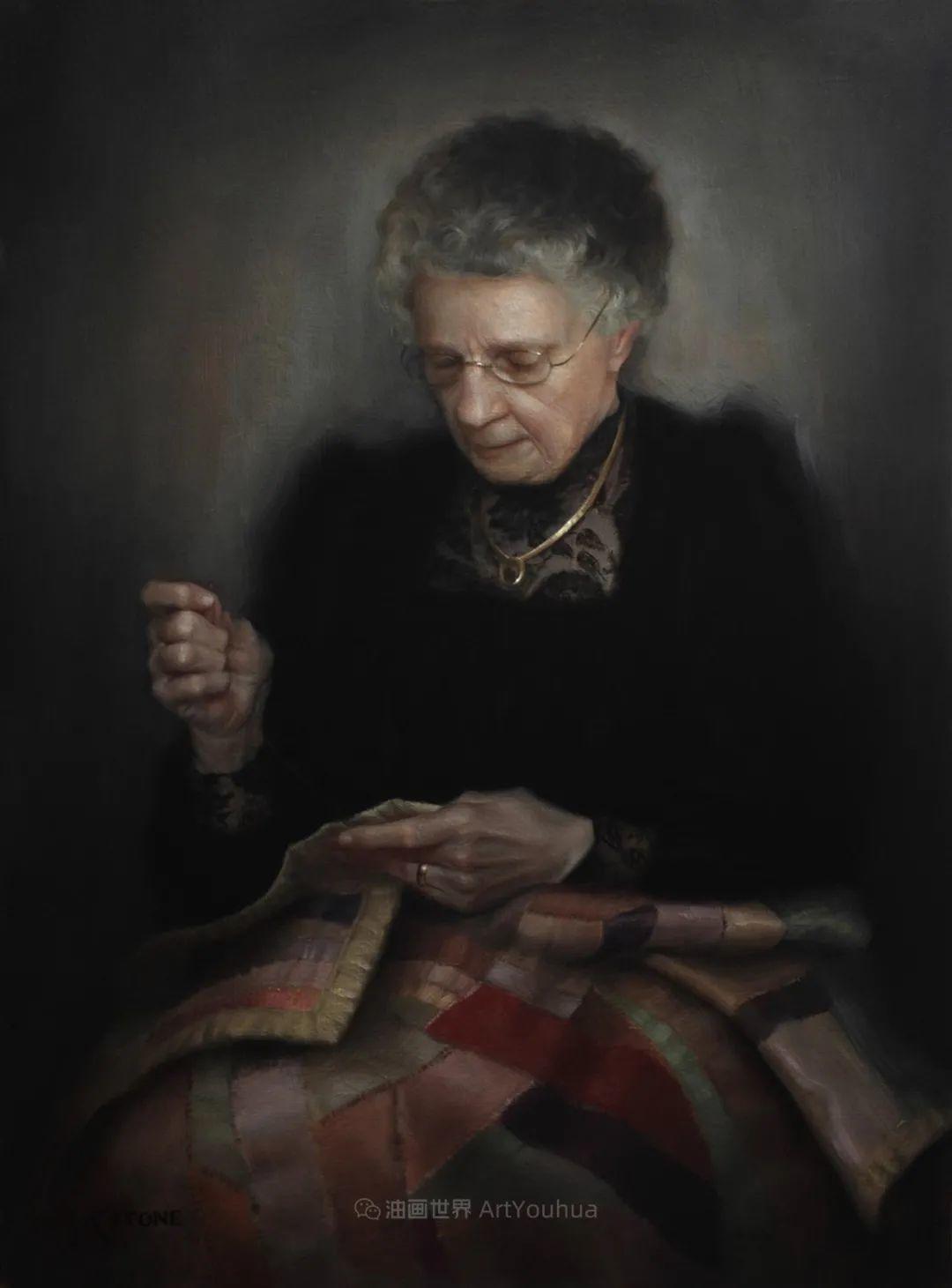 细致入微的静物与肖像,加拿大女画家凯瑟琳·斯通插图29