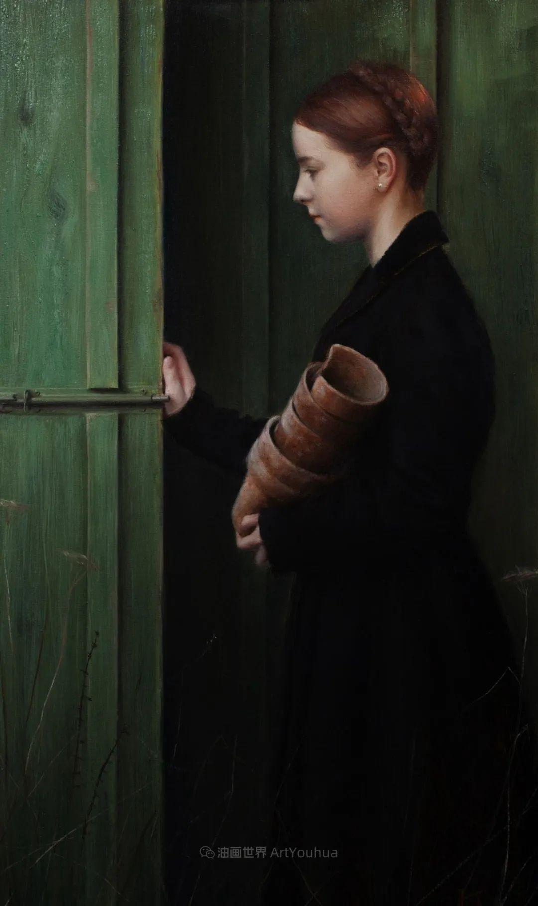 细致入微的静物与肖像,加拿大女画家凯瑟琳·斯通插图33