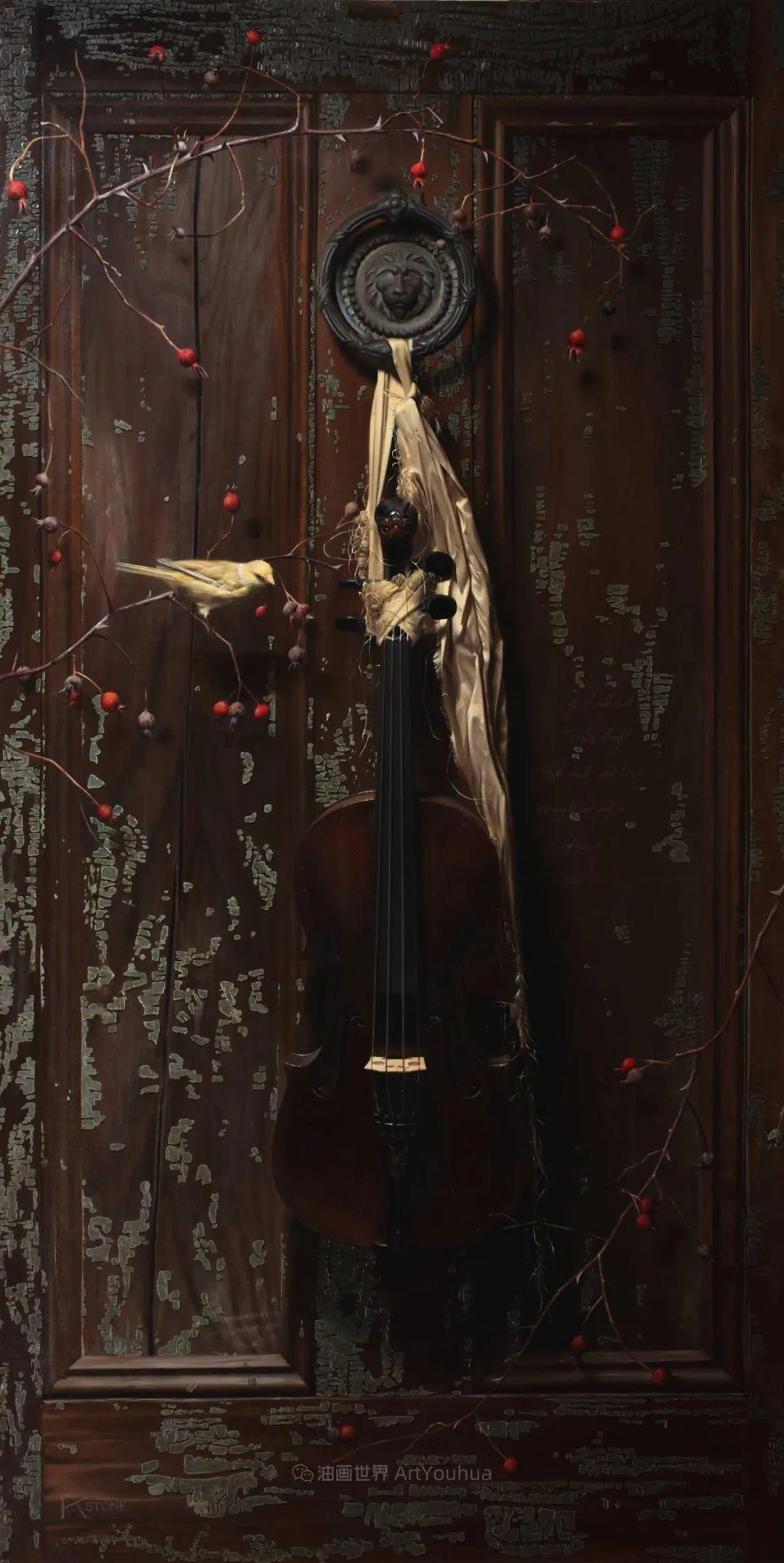 细致入微的静物与肖像,加拿大女画家凯瑟琳·斯通插图39