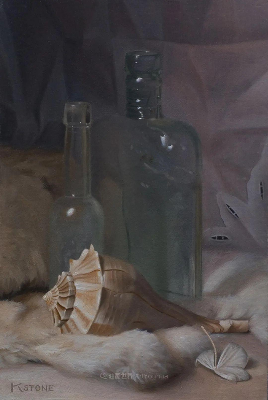 细致入微的静物与肖像,加拿大女画家凯瑟琳·斯通插图41