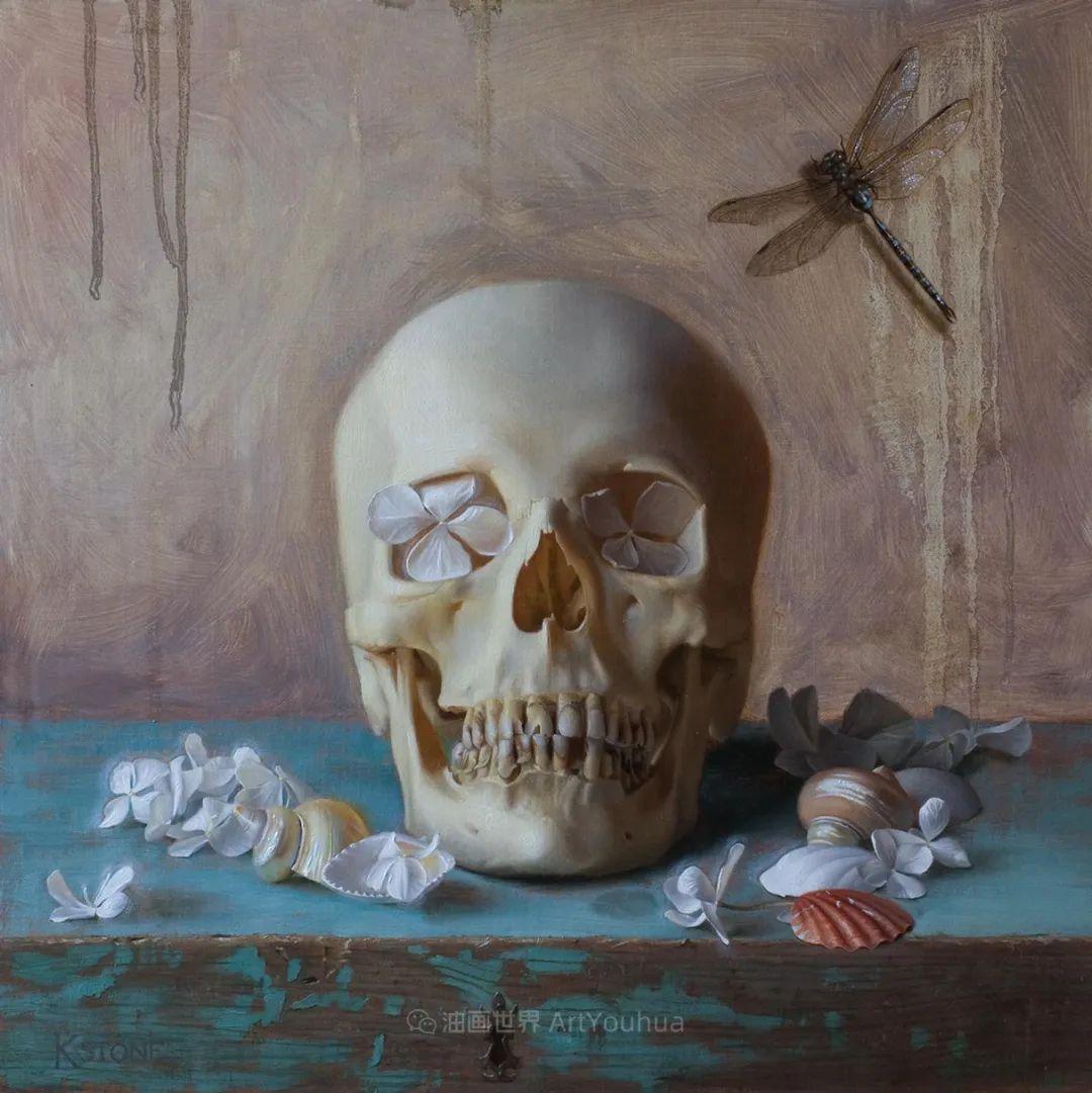 细致入微的静物与肖像,加拿大女画家凯瑟琳·斯通插图43