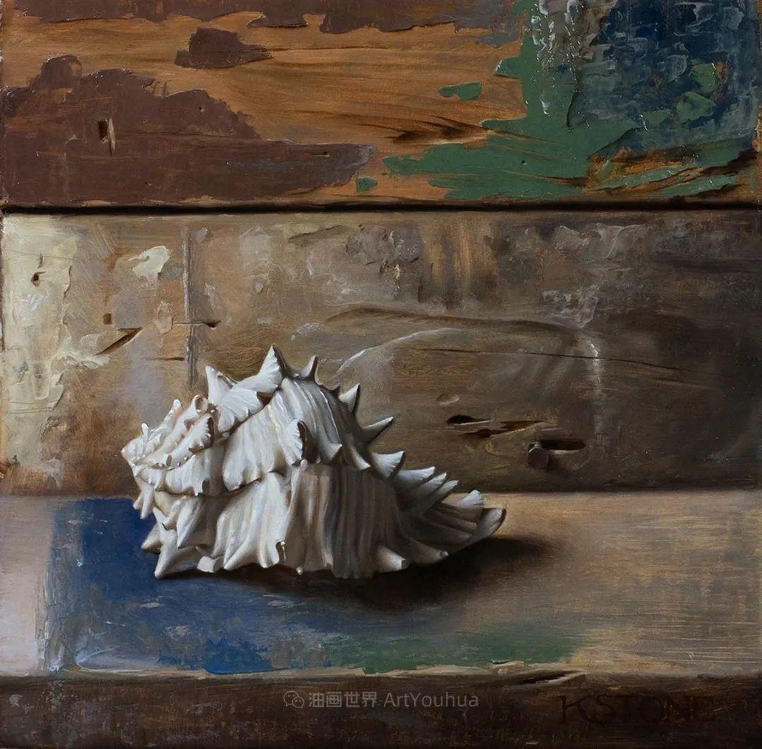 细致入微的静物与肖像,加拿大女画家凯瑟琳·斯通插图45