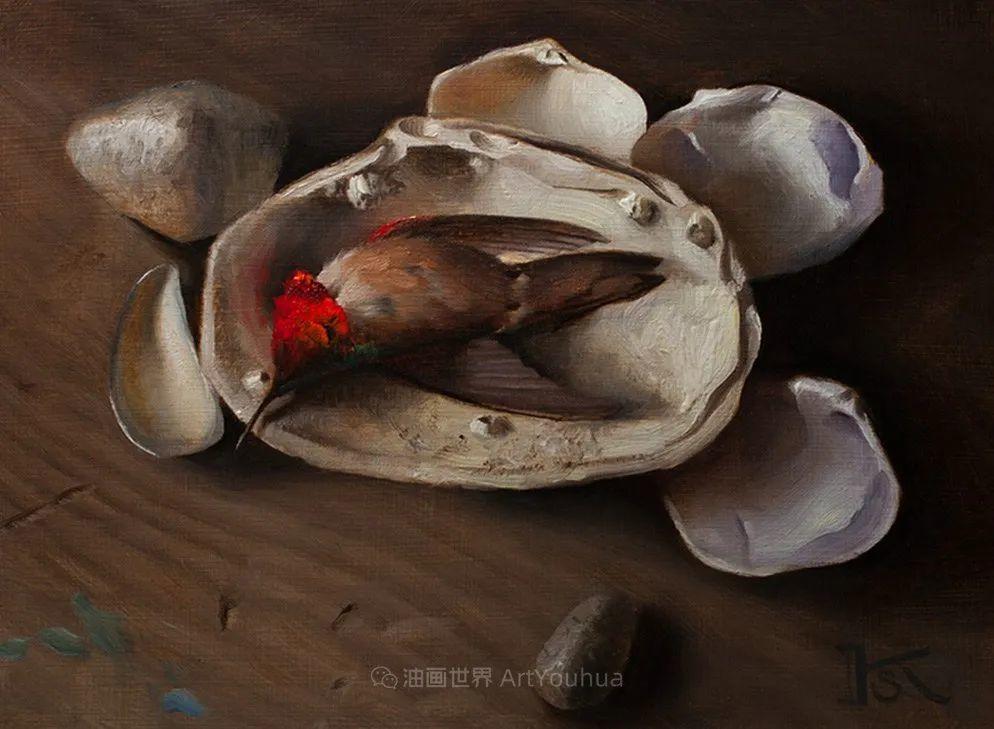 细致入微的静物与肖像,加拿大女画家凯瑟琳·斯通插图49