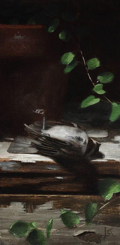 细致入微的静物与肖像,加拿大女画家凯瑟琳·斯通插图55