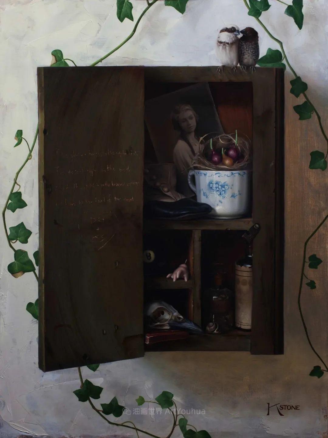 细致入微的静物与肖像,加拿大女画家凯瑟琳·斯通插图61