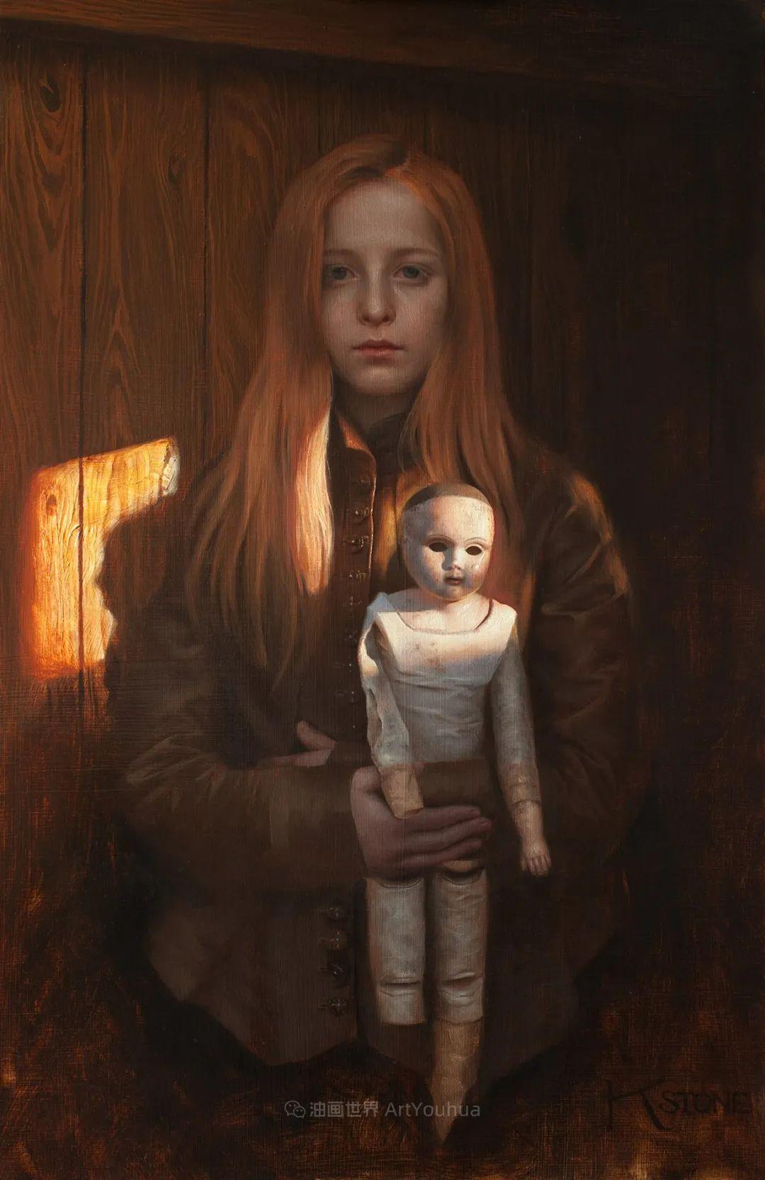 细致入微的静物与肖像,加拿大女画家凯瑟琳·斯通插图73