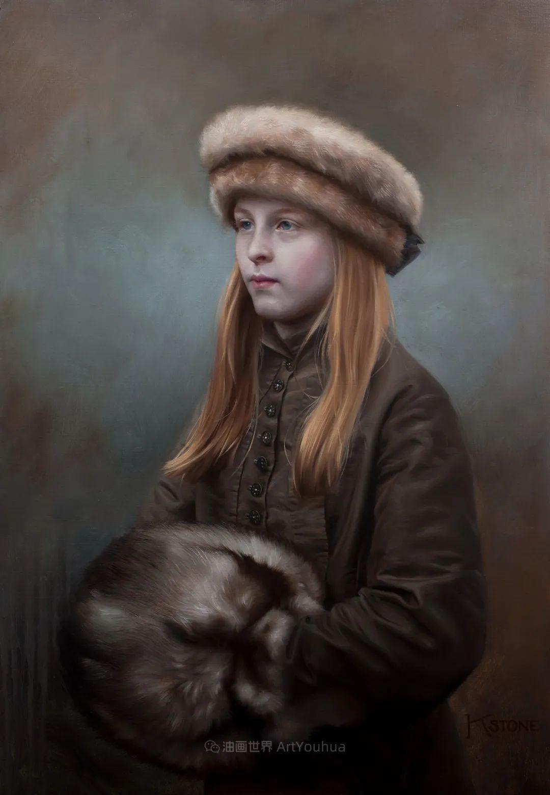 细致入微的静物与肖像,加拿大女画家凯瑟琳·斯通插图75
