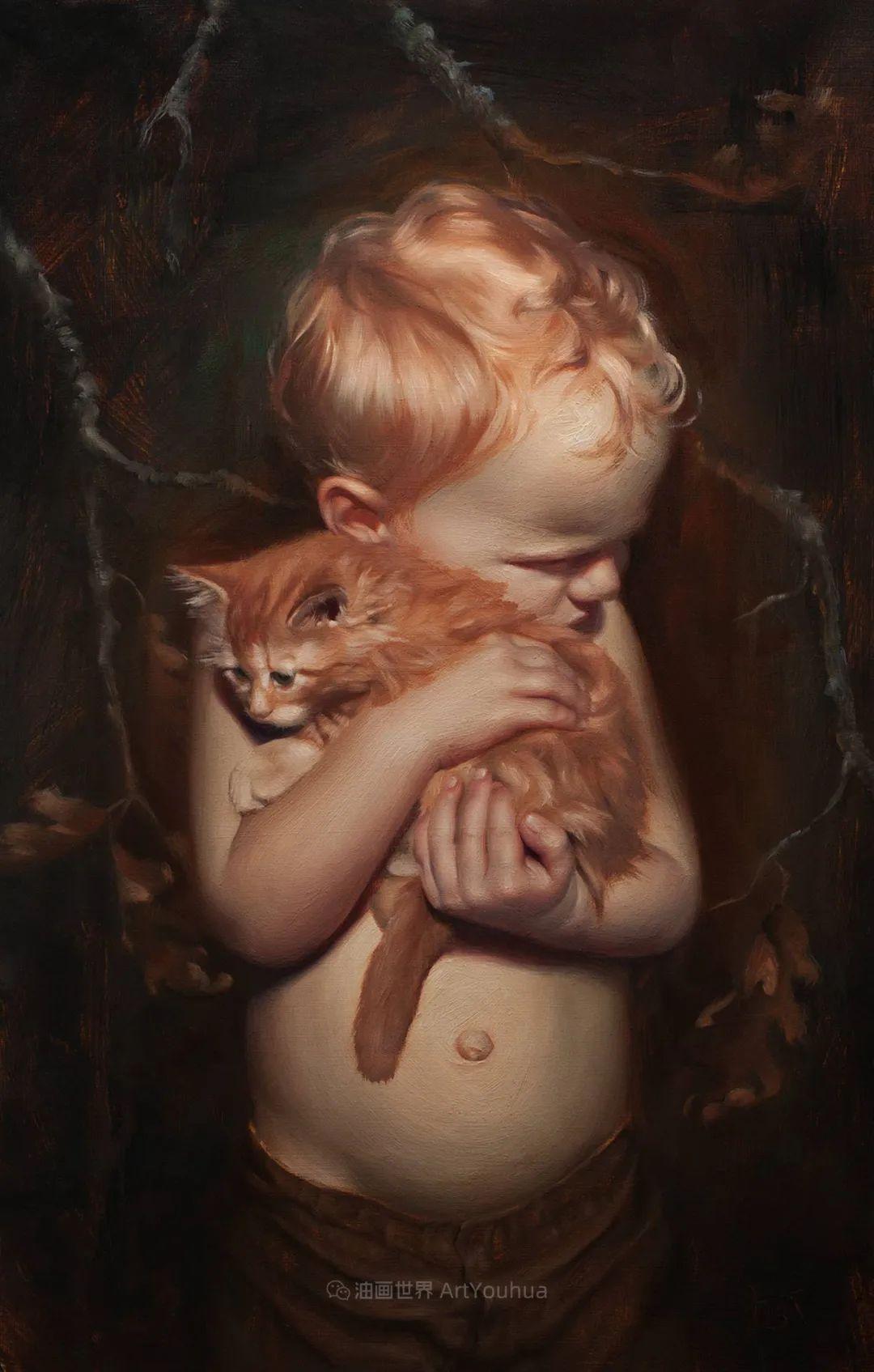 细致入微的静物与肖像,加拿大女画家凯瑟琳·斯通插图79