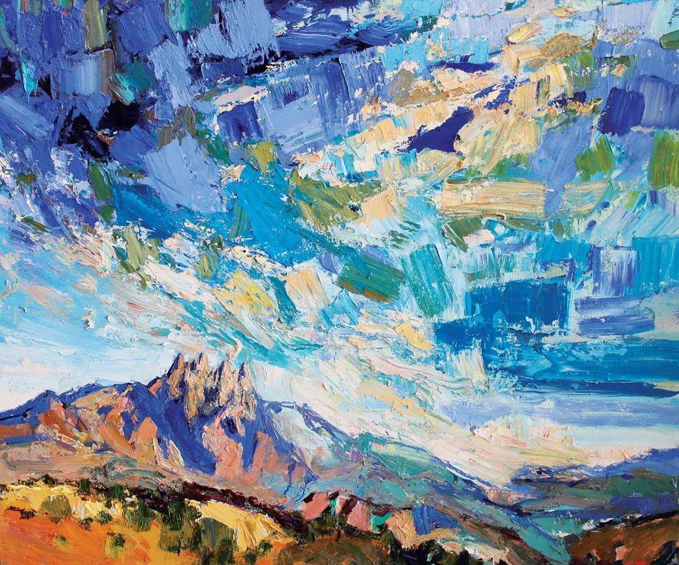 大笔触厚重的油画,色彩大胆,富有表现力!插图9