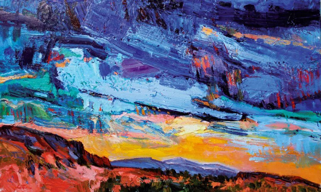 大笔触厚重的油画,色彩大胆,富有表现力!插图15