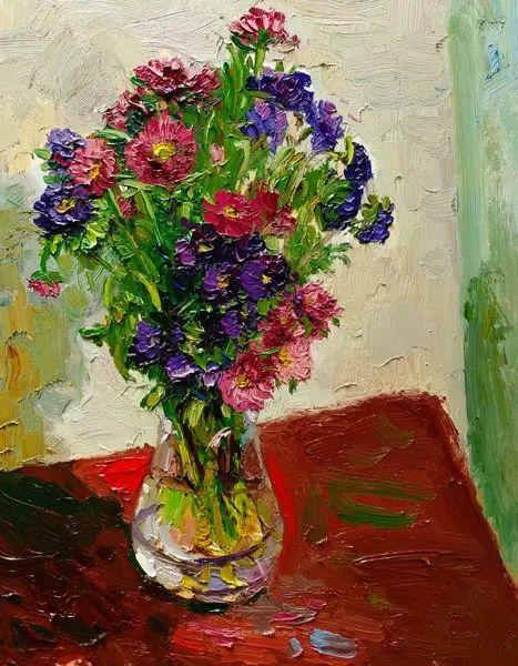 大笔触厚重的油画,色彩大胆,富有表现力!插图29