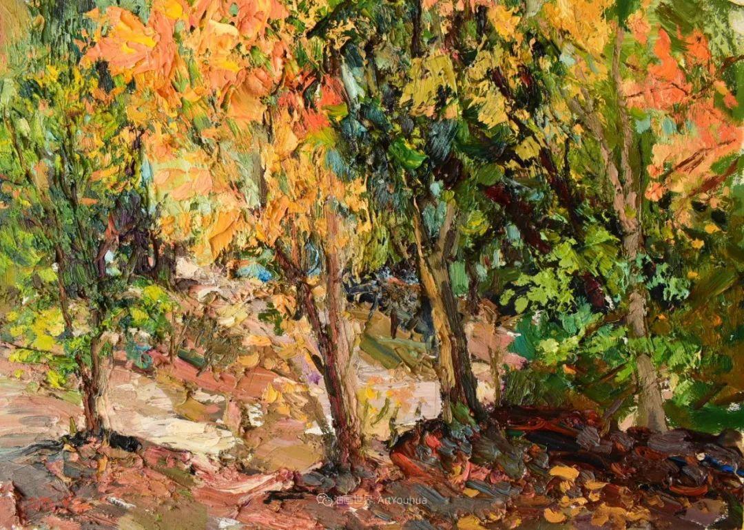 大笔触厚重的油画,色彩大胆,富有表现力!插图43