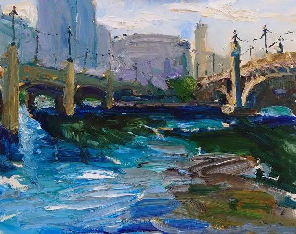 大笔触厚重的油画,色彩大胆,富有表现力!插图49