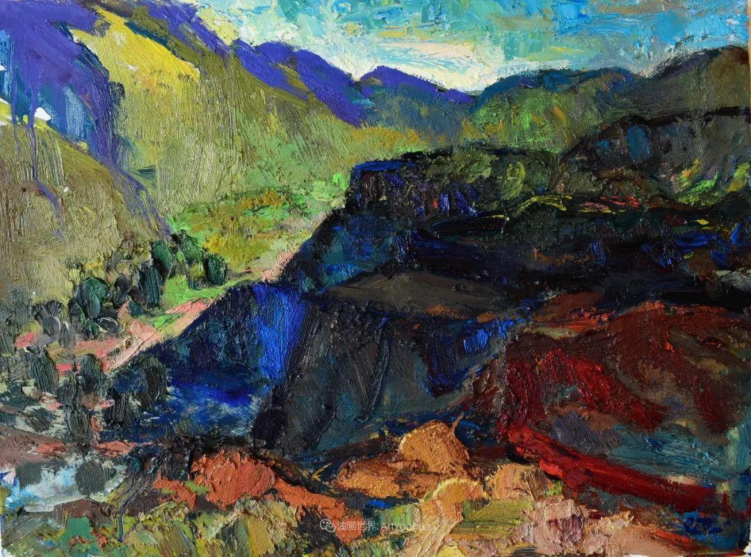 大笔触厚重的油画,色彩大胆,富有表现力!插图63