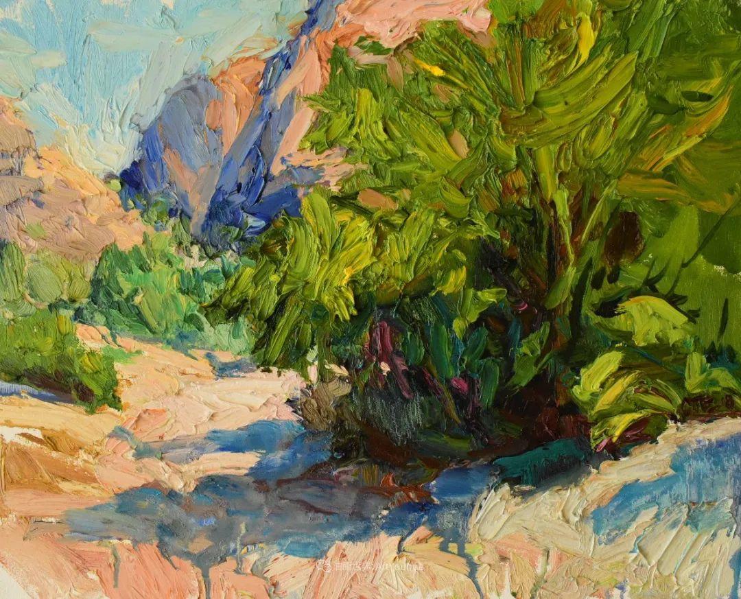 大笔触厚重的油画,色彩大胆,富有表现力!插图67