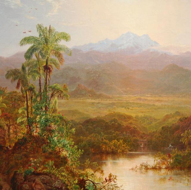 他的风景独具一格,大气、绚丽!美国画家路易斯·米格诺特插图5