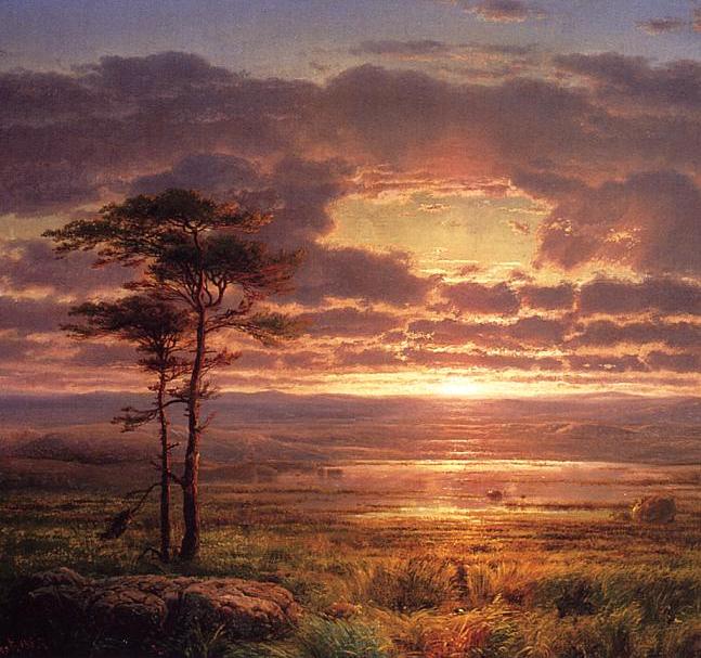他的风景独具一格,大气、绚丽!美国画家路易斯·米格诺特插图15