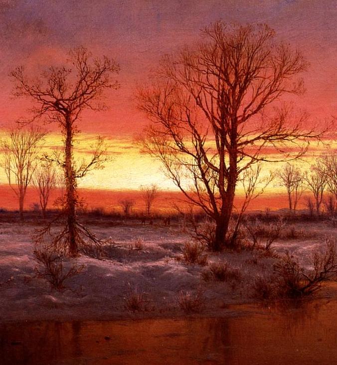 他的风景独具一格,大气、绚丽!美国画家路易斯·米格诺特插图19
