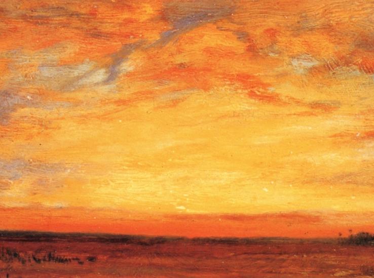 他的风景独具一格,大气、绚丽!美国画家路易斯·米格诺特插图23