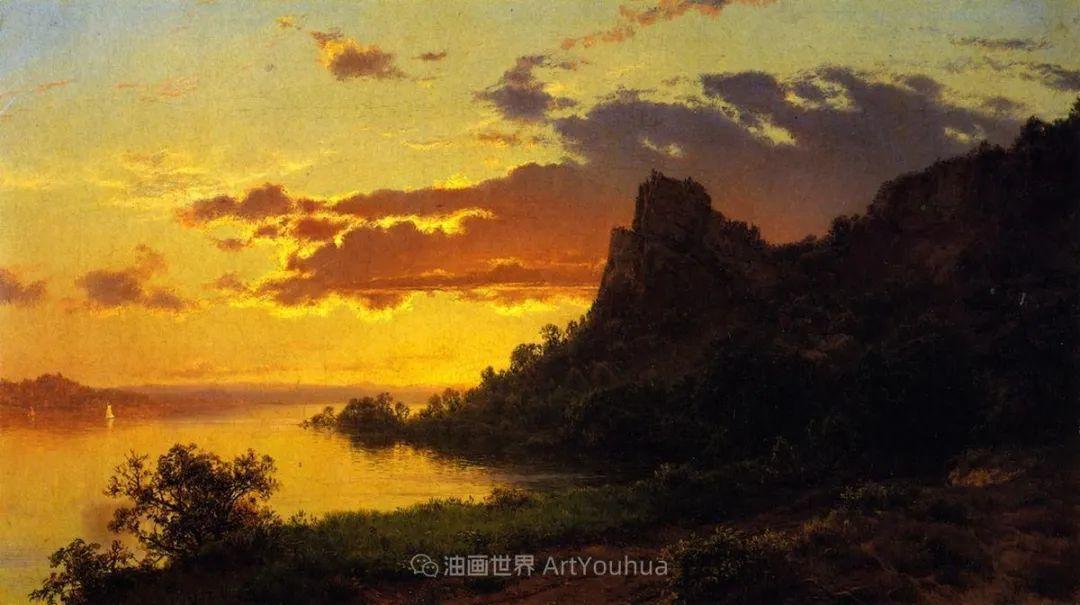 他的风景独具一格,大气、绚丽!美国画家路易斯·米格诺特插图25