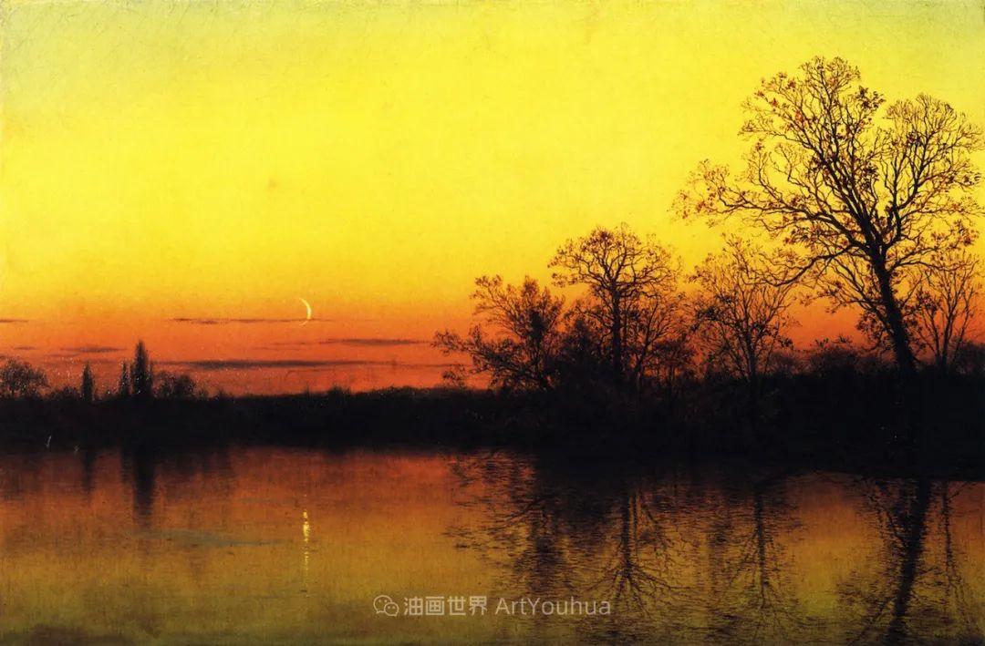 他的风景独具一格,大气、绚丽!美国画家路易斯·米格诺特插图27