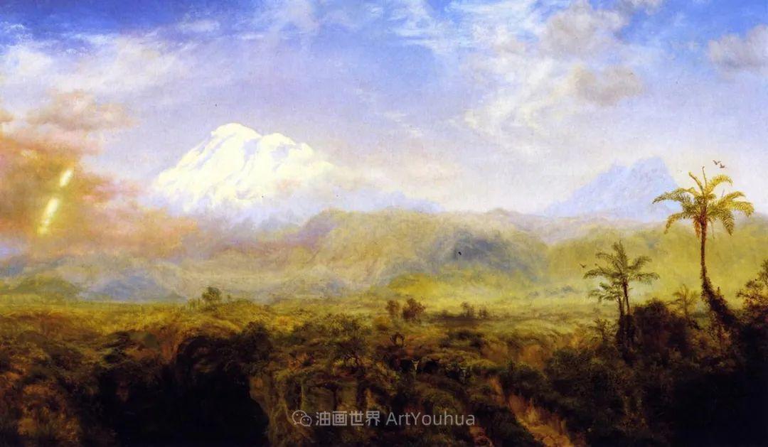 他的风景独具一格,大气、绚丽!美国画家路易斯·米格诺特插图47