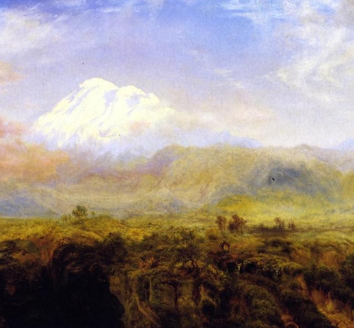 他的风景独具一格,大气、绚丽!美国画家路易斯·米格诺特插图49