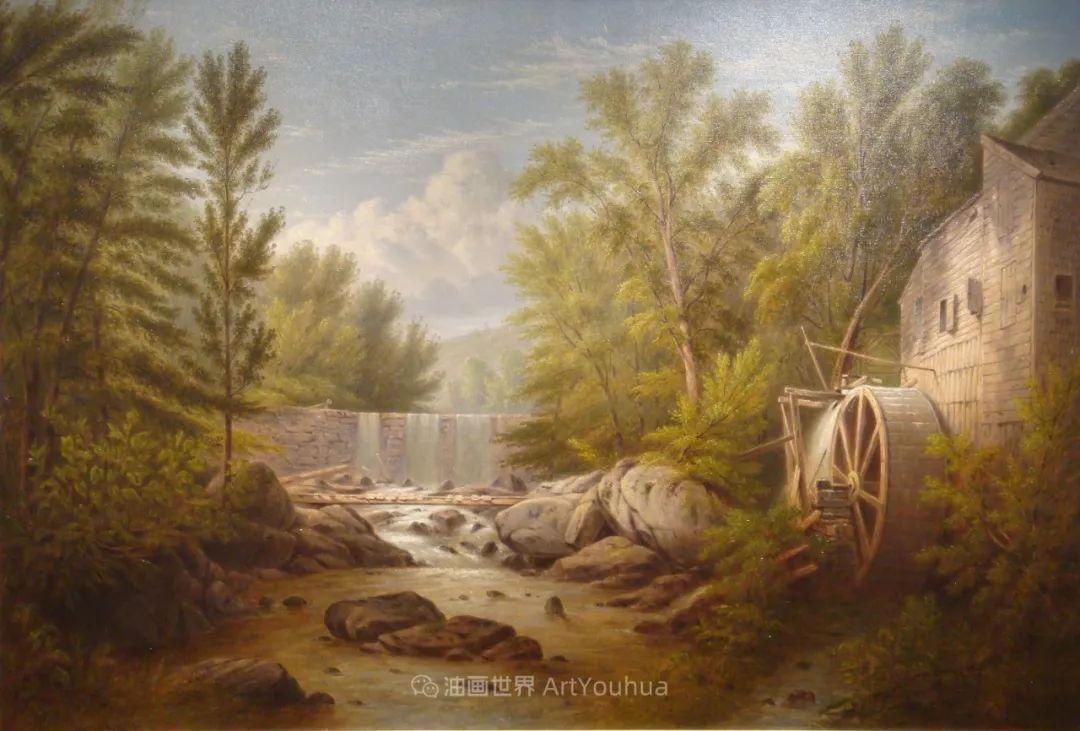 他的风景独具一格,大气、绚丽!美国画家路易斯·米格诺特插图87